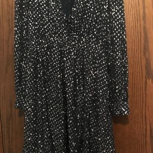 Kate Spade Dress   - Night Sky Dot Dress